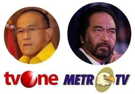 SBY Terang-terangan Menyebut Kedua Televisi Sudah Dipolisasi Parah Sekali 'Dosa-dosa' TVOne dan MetroTV http://www.siagaindonesia.com/2014/06/parah-sekali-dosa-dosa-tvone-dan-metrotv