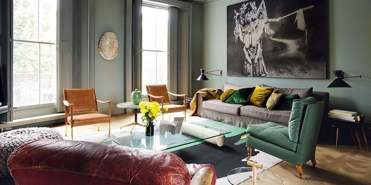 Interiors Now 3. TASCHEN Books. The new-old living room in a London townhouse, designed by Faye Toogood for a young couple; Photo: Bill Batten