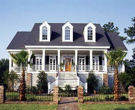 Plan 60074RC: Low Country Charisma. Southern House ...