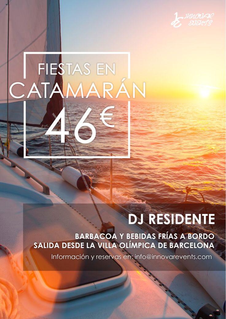 No puedes quedarte en tierra 👇👇👇👇👇👇👇👇👇👇www.innovarevents.com🚢🚢#beach #boat #hairstyle #single #friends  #luxury #barcelona #barbacoa #coldrink  #bodas #foodporn #food #paella #española #music #dj