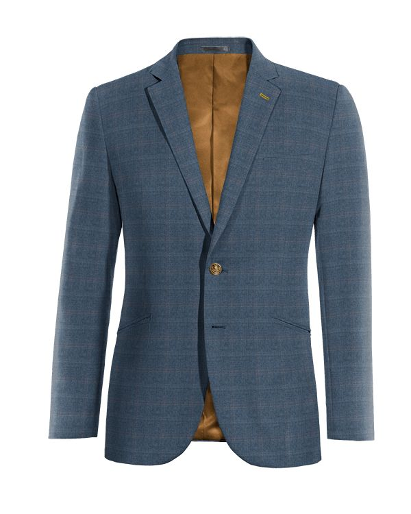 Blue checked wool Blazer http://www.tailor4less.com/en/men/blazers/3999-blue-checked-wool-blazer