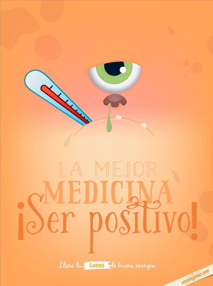 Esta es la cura para todos los males! #Lunesdebuenaenergía