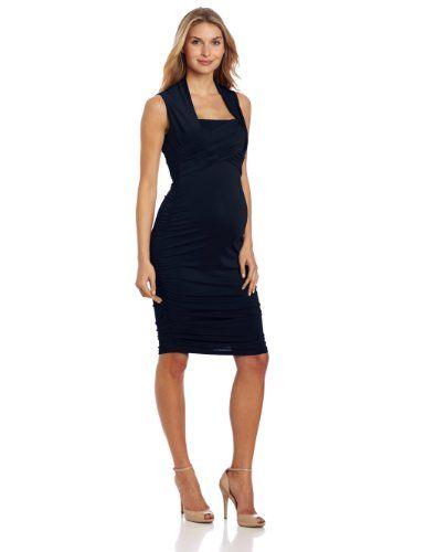 Ripe maternity black dress
