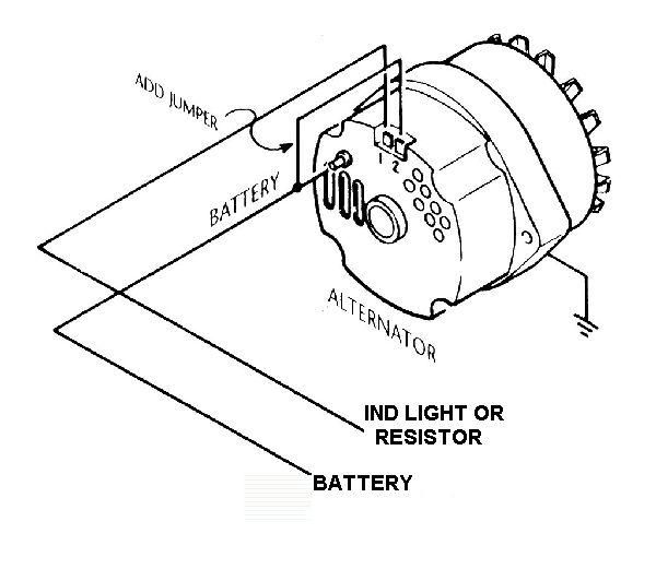 3wire to 1 wire alternator conversion? (With images