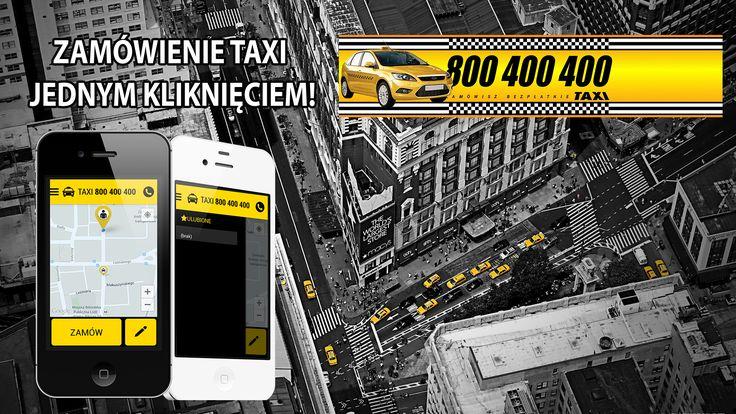 """Jak to działa?  Aby móc korzystać z naszej nowej aplikacji potrzebny jest Ci smartfon z dostępem do Internetu. Po zainstalowaniu aplikacji Taxi 800400400 i założeniu konta, możesz bez ograniczeń używać naszej aplikacji. Po automatycznym zalogowaniu się na swoje konto aplikacja Taxi 800400400 pokaże Ci Twoją aktualną lokalizację. Jeśli jesteś gotowy by zamówić taksówkę wystarczy kliknąć przycisk """"ZAMÓW"""". Możesz wybrać inną lokalizację wskazująć ją palcem na mapie bądź wprowadzić adres…"""