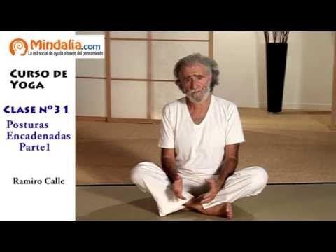 Posturas de pie encadenadas parte1 por Ramiro Calle. CLASE DE YOGA 31 - YouTube