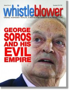 """DESTROYING AMERICA WILL BE THE CULMINATION OF MY LIFE'S WORK."" GEORGE SOROS, OBAMA MENTOR & PUPPETEER"