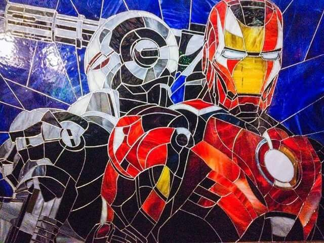 Ironman & War Machine by the Art Brothers