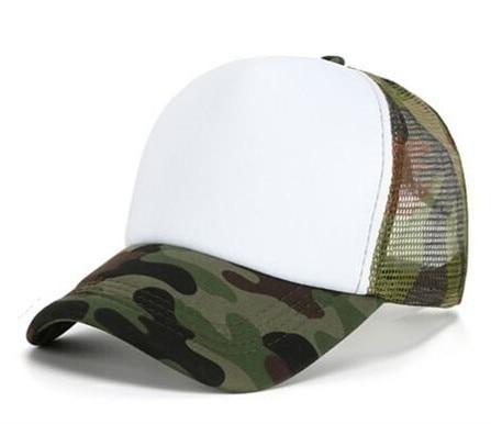 73a37f2724f Blank Summer Men Adjustable Breathable Solid Casual Baseball Caps Women s  Outdoor Trucker Hats Mesh Snapbacks Sun Hats