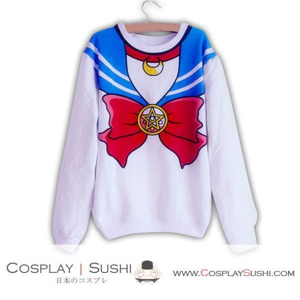 Grab our NEW Sailor Moon Sweater! SHOP NOW ► http://bit.ly/1HH34od Follow Cosplay Sushi for more cosplay ideas! #cosplaysushi #cosplay #anime #otaku #cool #cosplayer #cute #kawaii #SailorMoon #Sweater #Jacket #tops #clothes