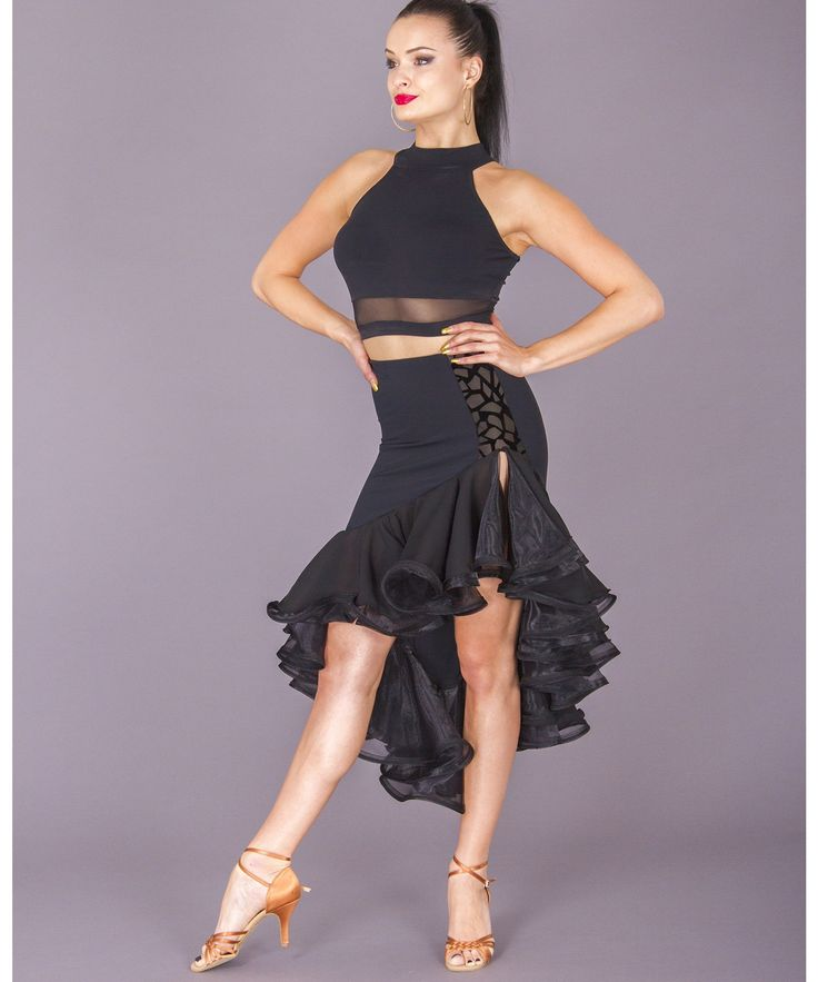 Women's Skirts, DSI London, 3261 Julianna Skirt, $149.00, from VEdance, the very best in ballroom and Latin dance shoes and dancewear.