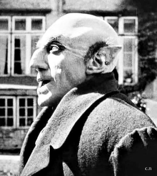 Max Shreck, Nosferatu (1922).