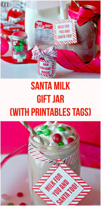 Milk For Santa Gift