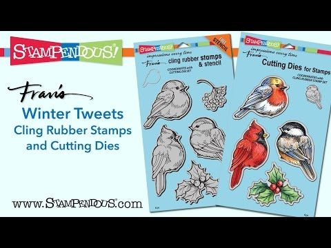 Explore our new Winter Tweets and check out loads of terrific projects using this new stamp set and matching dies.