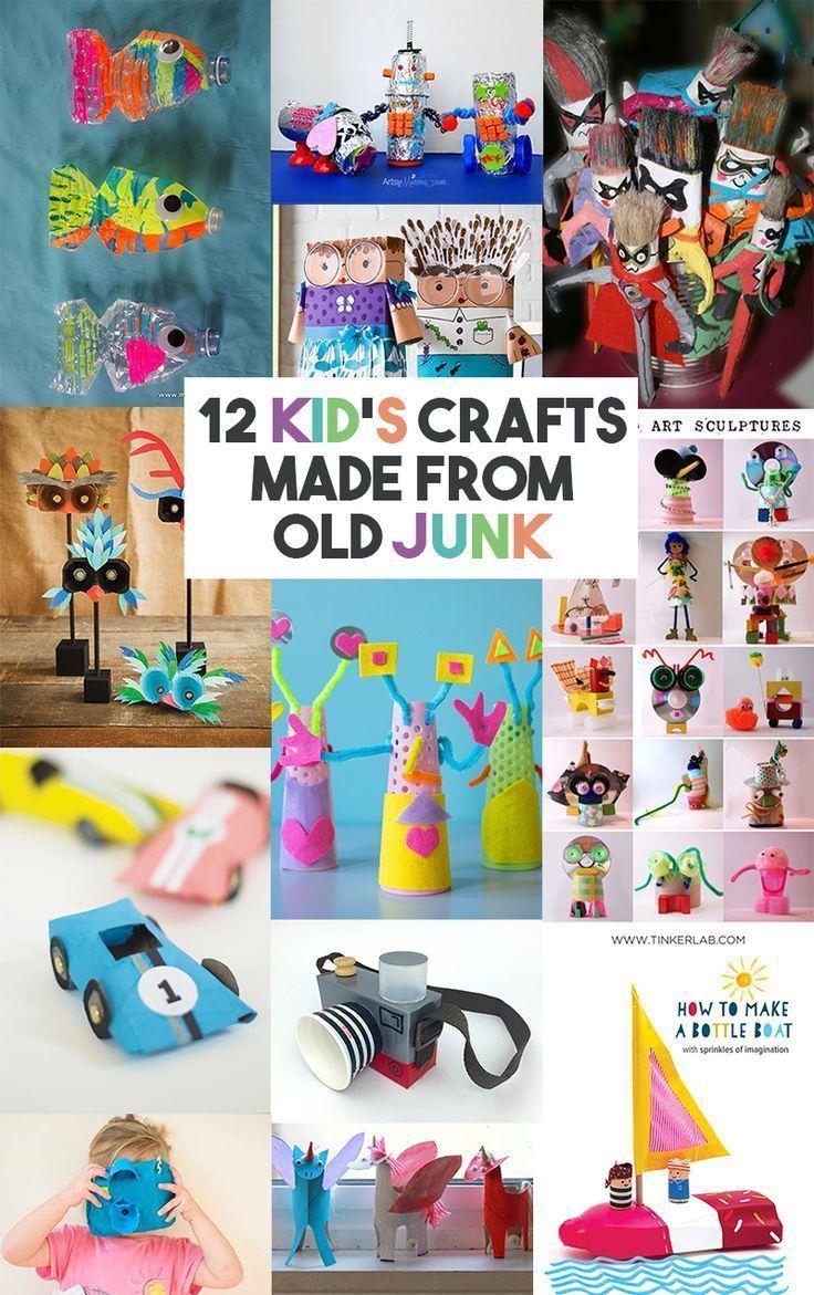 Crafts Using Old Children