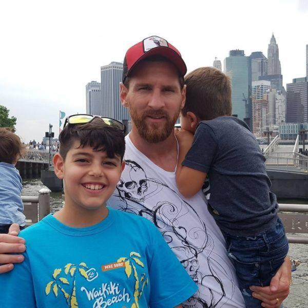 La insólita selfie de la que Messi y su familia fueron protagonistas sin querer