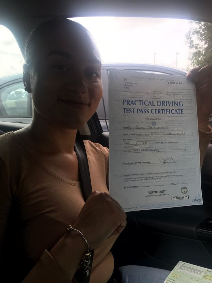 Passed with zero driving faults. Book #drivinglessons #wellingborough #kettering #northampton with best #drivinginstructors in town