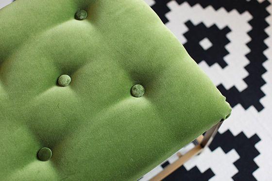 DIY: IKEA VITTSJÖ Table Turned Chic Cocktail Ottoman | melodrama