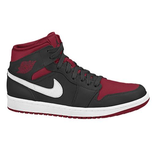 Featuring premium leather and an Air-Sole unit for cushioning, the Air  Jordan 1 Mid Men's Shoe is inspired by the original Air Jordan 1 that's  been breaking ...