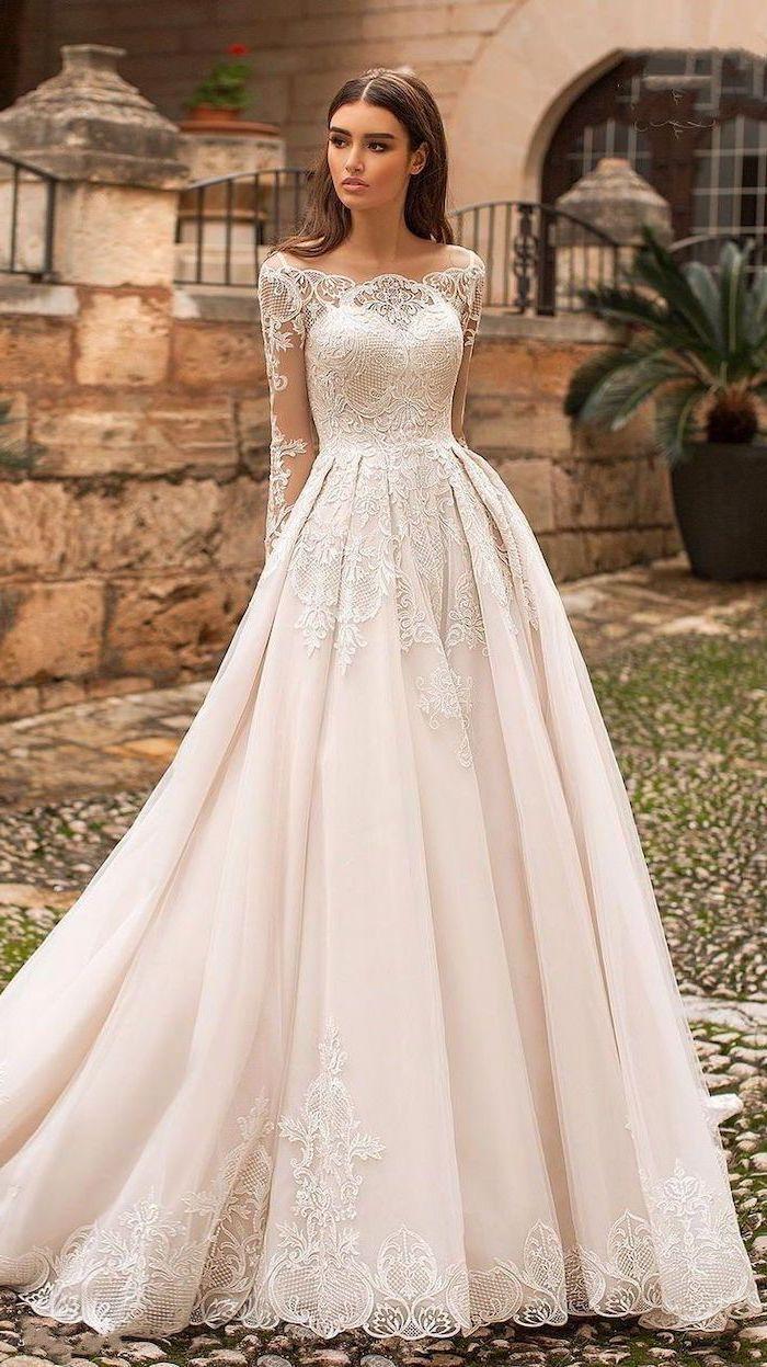 1001 Ideas For Gorgeous Long Sleeve Wedding Dresses In 2020 Long Sleeve Wedding Dress Lace Wedding Dress Long Sleeve Lace Wedding Dress With Sleeves