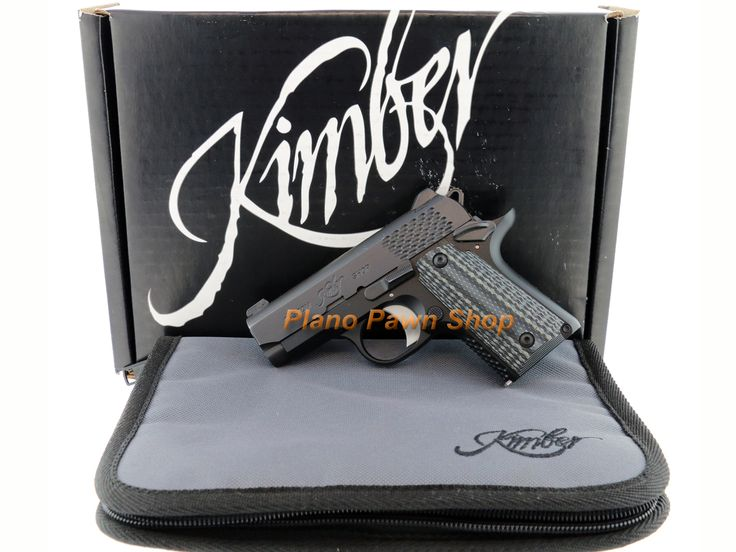 Kimber Micro Raptor .380ACP in box with 1 Magazine from our Online Gun Pawn Shop - Plano Pawn Shop