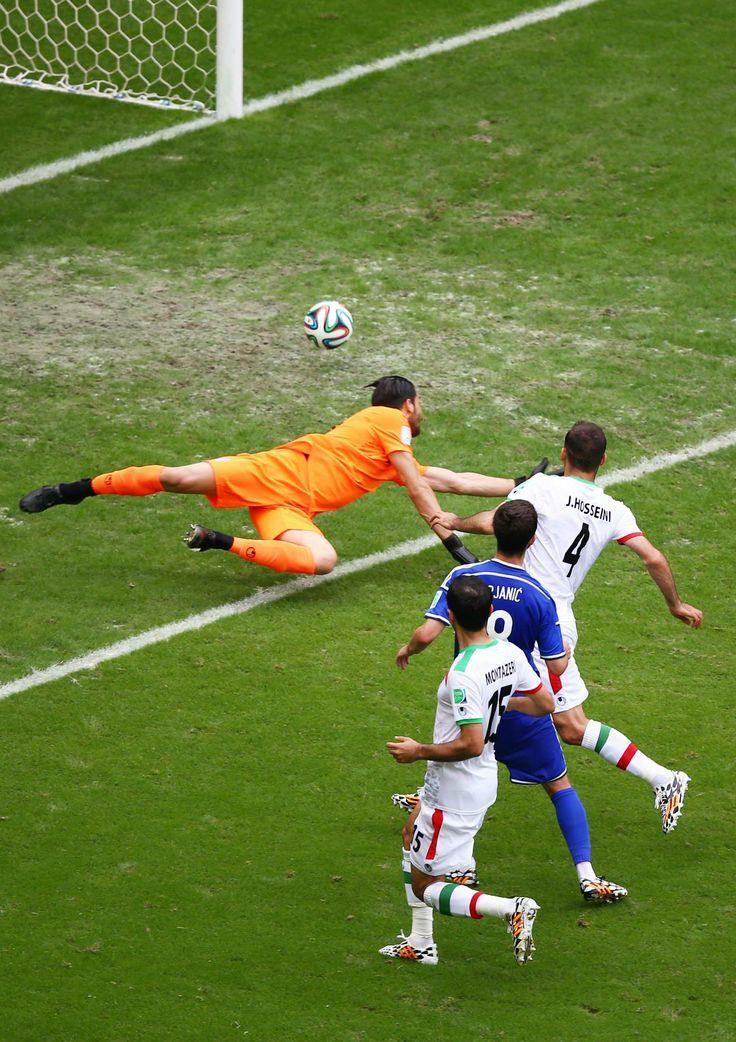 Pjanic scores for Bosnia v Iran Sky sports football