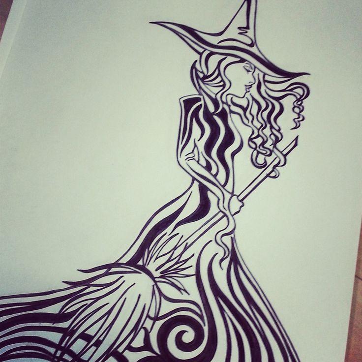 witch doodle- Lady Lorelie Productions