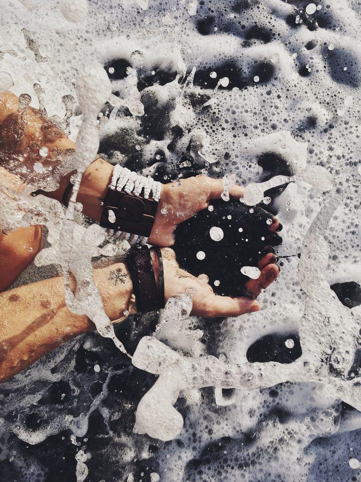 Чёрный песок Чангу океан black sand