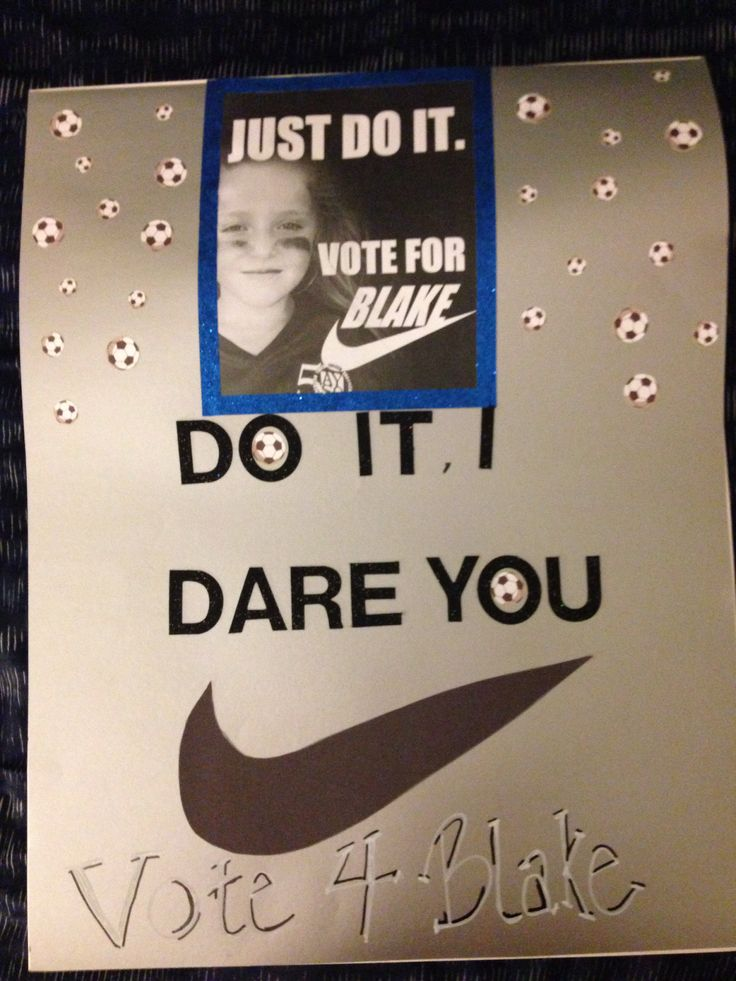Student council poster
