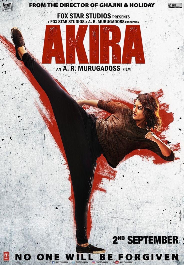 """AKIRA/Sonakshi Sinha on Twitter: """"Fierce has a new face & its kick-ass! Here's the 3rd official poster of #Akira. @ARMurugadoss @foxstarhindi https://t.co/0aVH4a5k2C"""""""