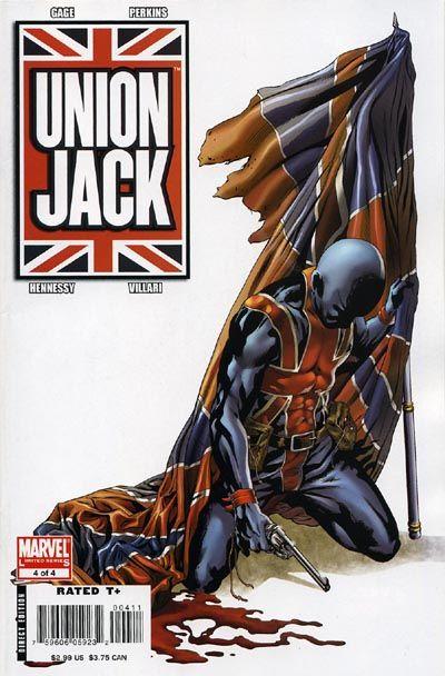 union jack marvel comics   Union Jack Vol 2 4 - Marvel Comics Database