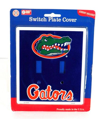 Florida Gators Decor Officially Licensed Light Switch Covers AZ52 | EBay