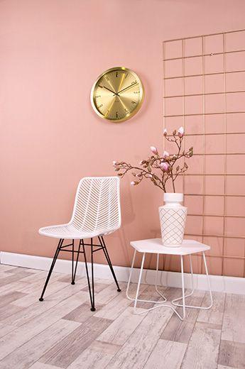 Leitmotiv - Chair Cosy rotan white 54,6 x 44,5 x 85,7cm. #leitmotivfurniture #presenttime #presenttime_hq