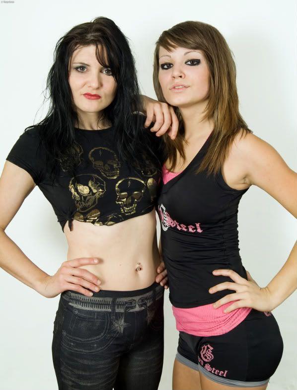 Sweet Saraya (Julie Hamer-Bevis) & her daughter WWE NXT Diva Paige (Saraya-Jade Bevis)