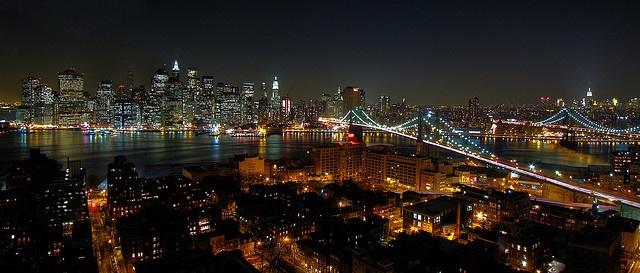 Brooklyn night is a double stuffed slut