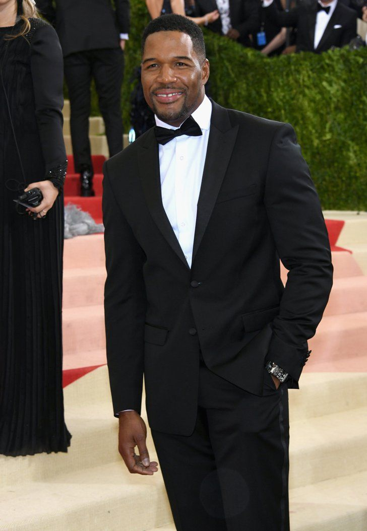 Pin for Later: Feast Your Eyes on All the Handsome Celebrity Guys at the Met Gala Michael Strahan
