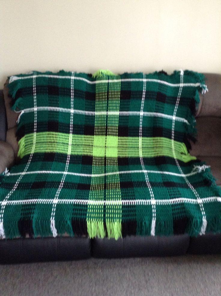 Graham Tartan I crochet for a friend