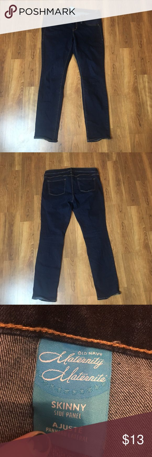 Maternity jeans Maternity jeans from old navy size 10 in good condition in the style skinny Old Navy Jeans Skinny