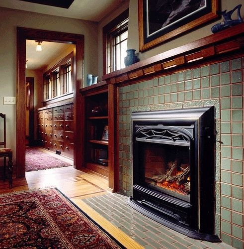 35 curated craftsman trim ideas by atdoodlebug front for Craftsman gas fireplace