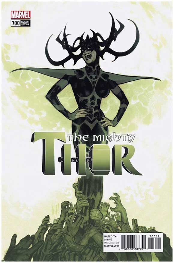 The Mighty Thor #700 1:100 Hughes Retailer Incentive Variant. Click the pic and find out more...