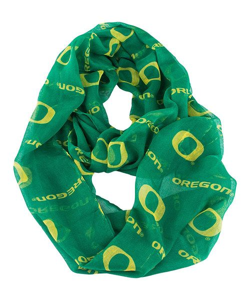 Take a look at the Oregon Ducks Infinity Scarf on #zulily today!