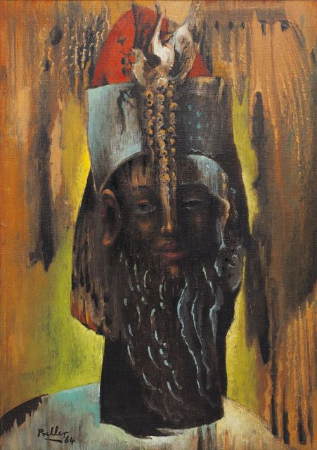 Alexis Preller, 'Priest King,' 1964, Johans Borman Fine Art