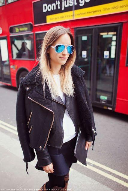 Trend alert : Mirrored sunglasses