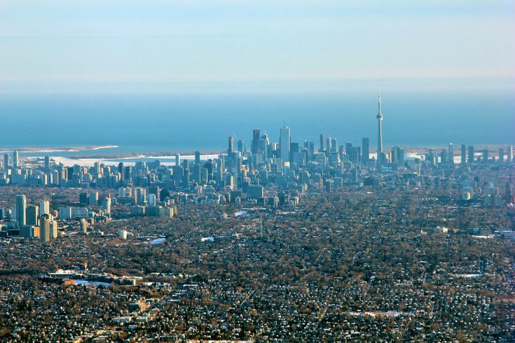 Toronto from the sky