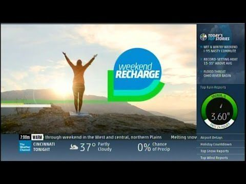 The Weather Channel's Weekend Recharge (new live show)- March 14, 2015