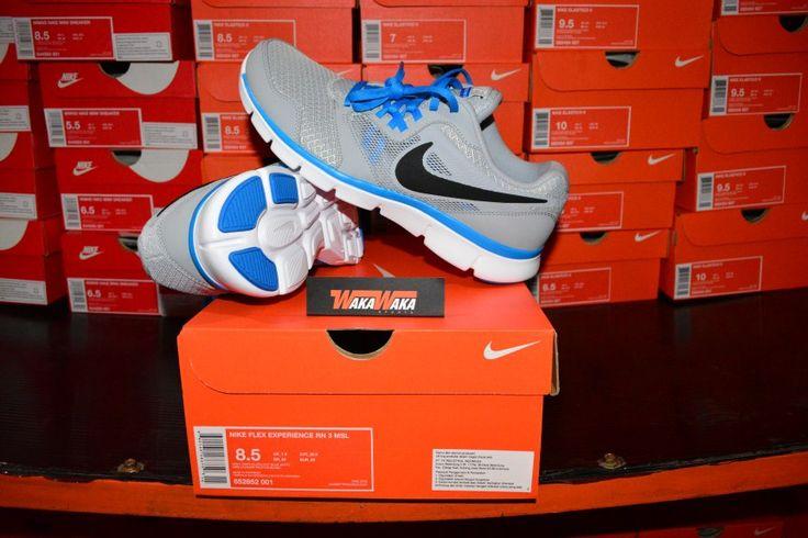 Sepatu Running Nike Flex Experience RN 3 MSL , adalah sepatu running dengan desain yang minimalis dan teknologi sangat bagus , untuk membuat motion traksi berlari memberikan efek terbaik ketika digunakan.