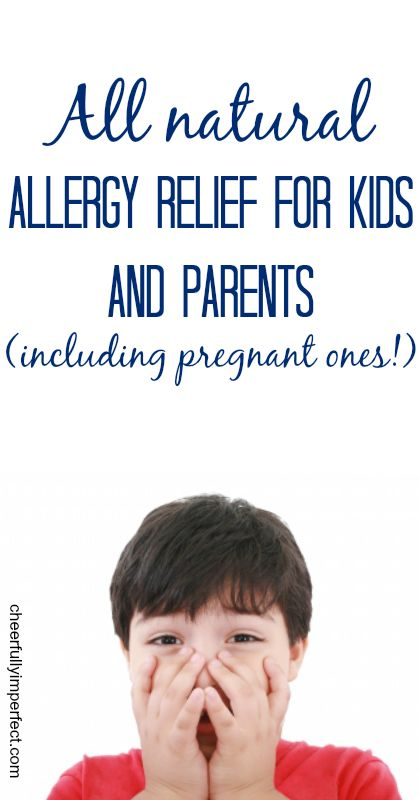 All Natural Allergy Relief for kids and their parents (even pregnant ones). #allergies #naturalremedies #essentialoils