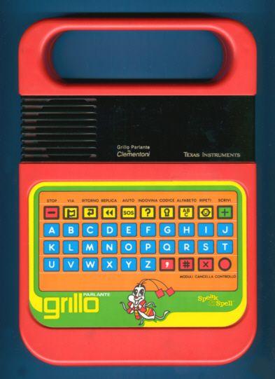 """Indimenticabile """"Grillo parlante"""", anno 1984 (per l'Italia)."""