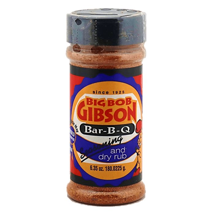 Big Bob Gibson Bar-B-Q Seasoning and Dry Rub