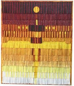 Abdoulaye Konaté, 'Composition (Femme Masai),' 2015, Blain | Southern